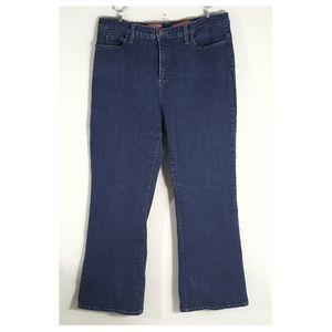 NYDJ Hi-Rise Tummy Tuck Womens Jeans, 16P
